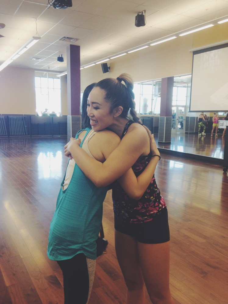 Meeting Cassey Ho from Blogilates--for the SECOND TIME! I will be forever grateful for every time I get to see her!